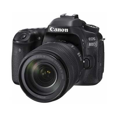 Cámara Canon Eos 80d Kit 18-135 Is Usm 24,2 Mpx Full Hd